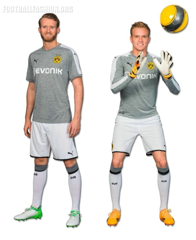 wholesale dealer 527ec 69ecf Borussia Dortmund 2017/18 PUMA Third Kit - FOOTBALL FASHION.ORG