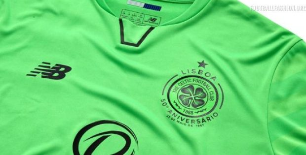 Celtic FC 2017 2018 New Balance Third Euro Football Kit, Soccer Jersey, Shirt