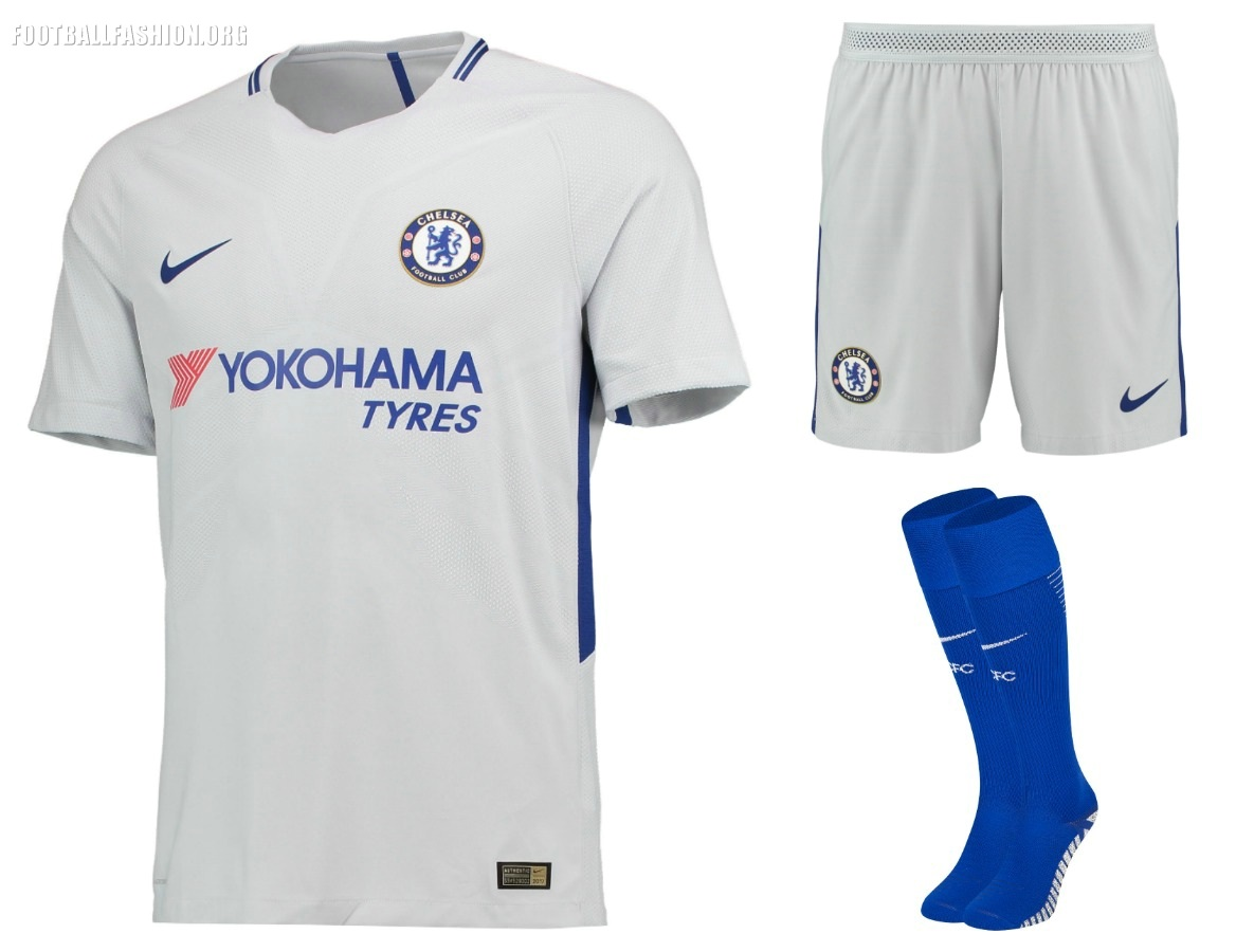 73d1f52da9 Chelsea FC 2017 18 Nike Home and Away Kits – FOOTBALL FASHION.ORG