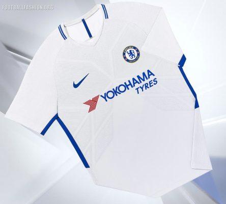 Chelsea FC 2017 2018 Nike Home and Away Football Kit, Soccer Jersey, Shirt, Camiseta de Futbol, Camisa, Maillot, Trikot, Tenue, Dres