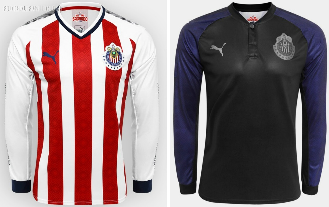 quality design 074ad 65e6c Chivas de Guadalajara 2017/18 PUMA Home and Away Jerseys ...
