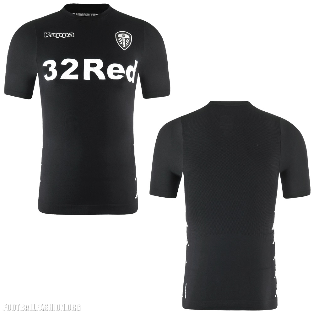 Leeds United 2017 18 Kappa Away Kit Football Fashion Org