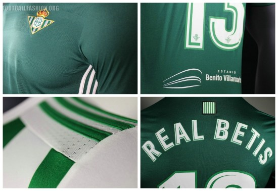 Real Betis 2017 2018 adidas Home and Away Football Kit, Soccer Jersey, Shirt, Camiseta, Equipacion, Playera