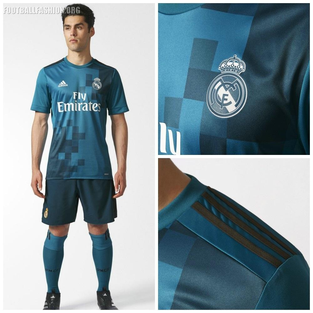 size 40 fdc29 914b4 Real Madrid 2017/18 adidas Third Kit - FOOTBALL FASHION.ORG