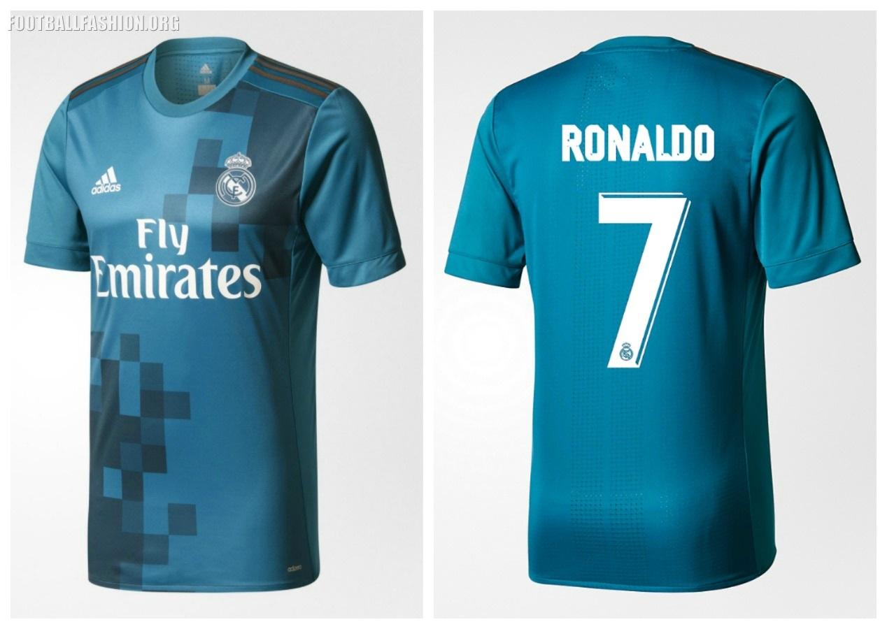 size 40 79f6f a188d Real Madrid 2017/18 adidas Third Kit - FOOTBALL FASHION.ORG
