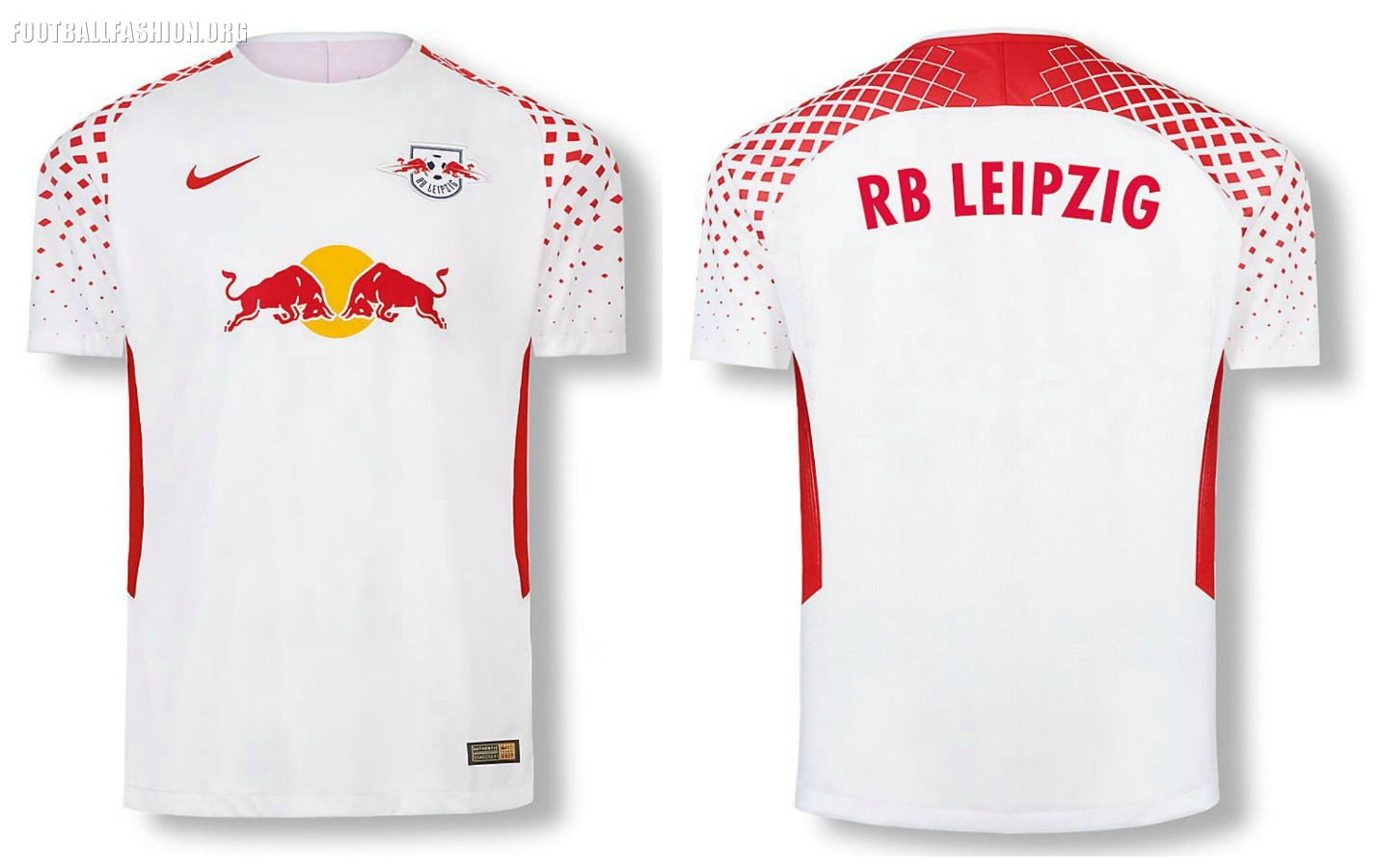 63326bf98 RB Leipzig 2017 2018 Nike Home and Away Football Kit, Soccer Jersey, Shirt.