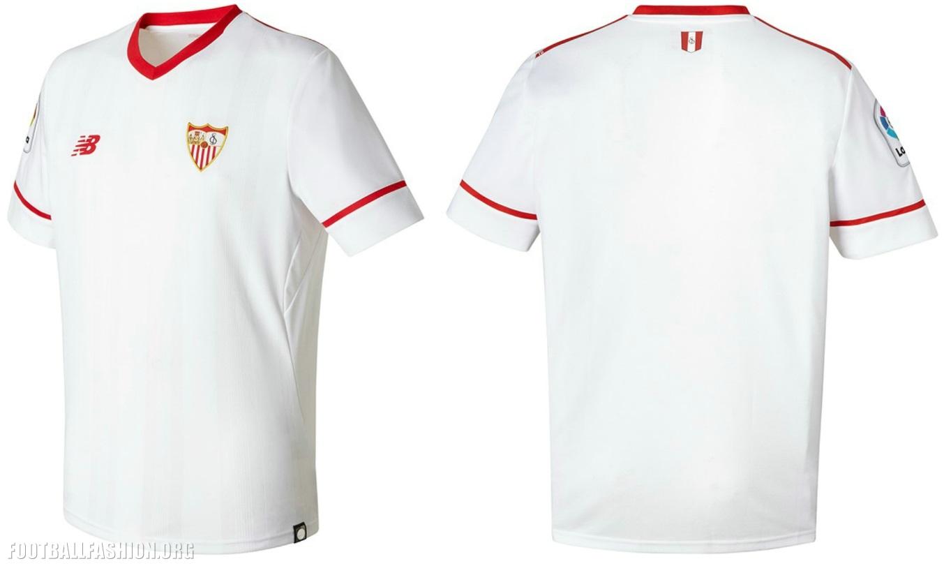 equipacion Sevilla FC futbol