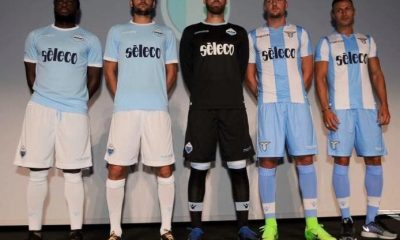 SS Lazio 2017 2018 Macron Home and Europa League Football Kit, Soccer Jersey, Shirt, Gara, Maglia, Camiseta, Camisa