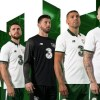 Republic of Ireland 2017 2018 New Balance White Away Football Kit, Soccer Jersey, Shirt, Uniform