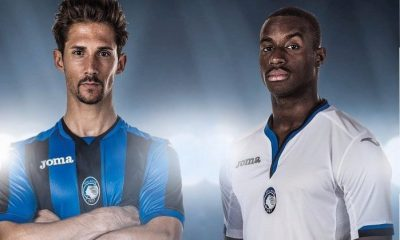 Atalanta BC 2017 2018 Joma Home, Away and Third Football Kit, Soccer Jersey, Shirt, Maglia, Gara, Camiseta, Camisa