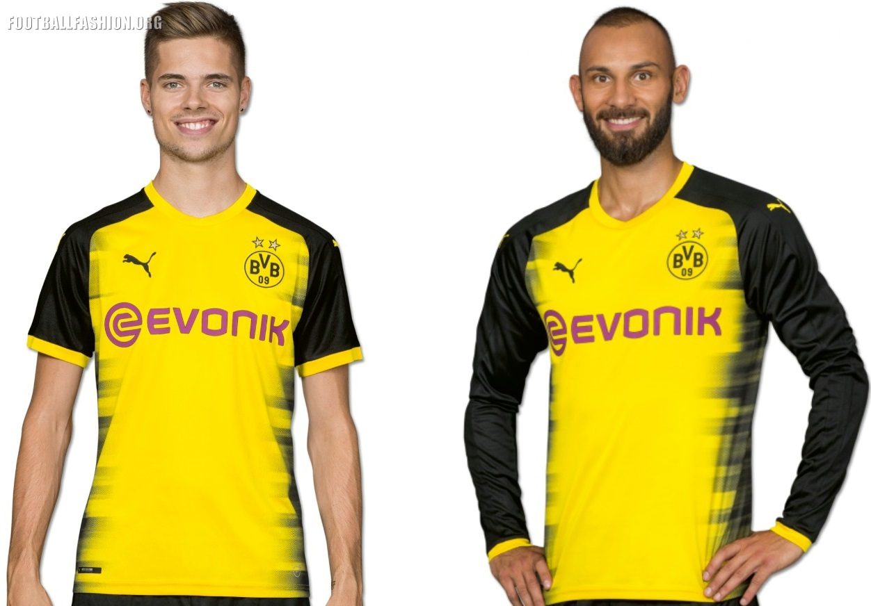 huge selection of dd9ff 4c68a Borussia Dortmund 2017/18 PUMA Champions League Kit ...