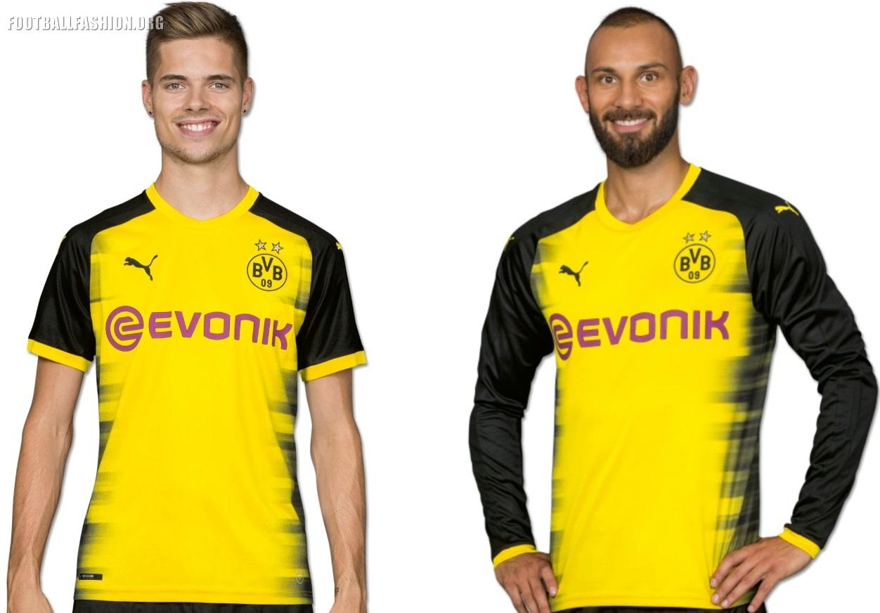 bf3cf925b6e Borussia Dortmund 2017 2018 PUMA International, Champions League, Football  Kit, Shirt, Soccer