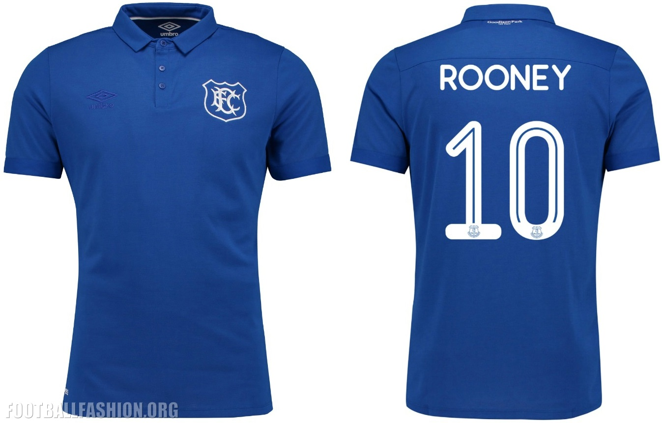 huge discount 833aa e59d2 Everton FC Goodison Park 125th Anniversary Umbro Home Kit ...