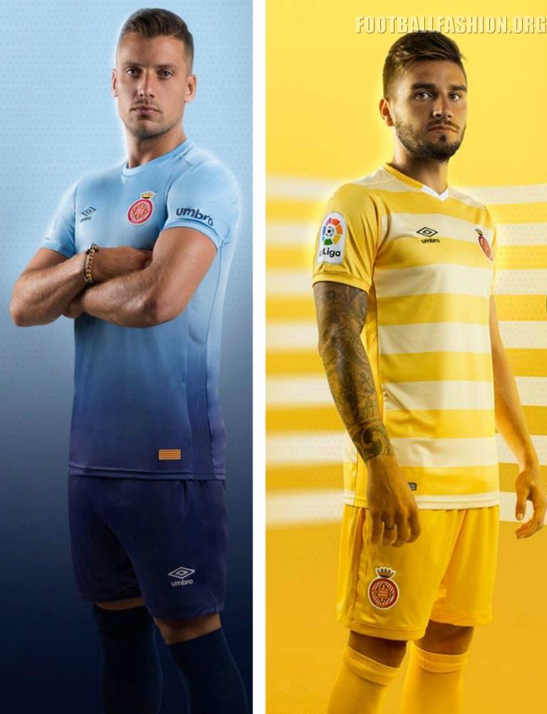 Girona FC 2017/18 Umbro Kits for La Liga Debut – FOOTBALL ...
