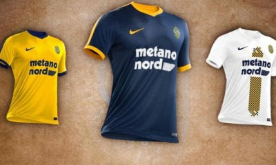 Hellas Verona 2017 2018 Nike Home, Away and Third Football Kit, Soccer Jersey, Shirt, Gara, Maglia