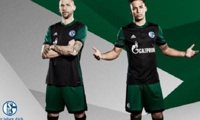 Schalke 04 2017 2018 adidas Third Football Kit, Shirt, Soccer Jersey, Trikot, Ausweich-Trikot