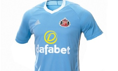 Sunderland 2017 2018 adidas Away Football Kit, Soccer Jersey, Shirt