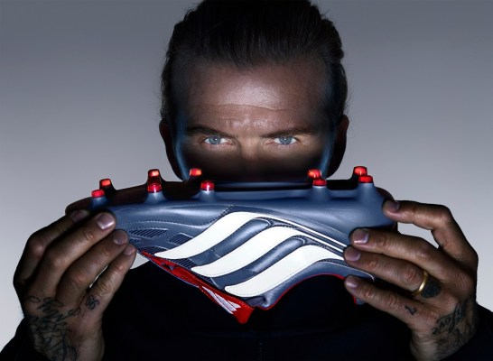 Reborn: David Beckham Reveals New adidas Predator Precision Soccer Boot, Football Shoe, Calzado
