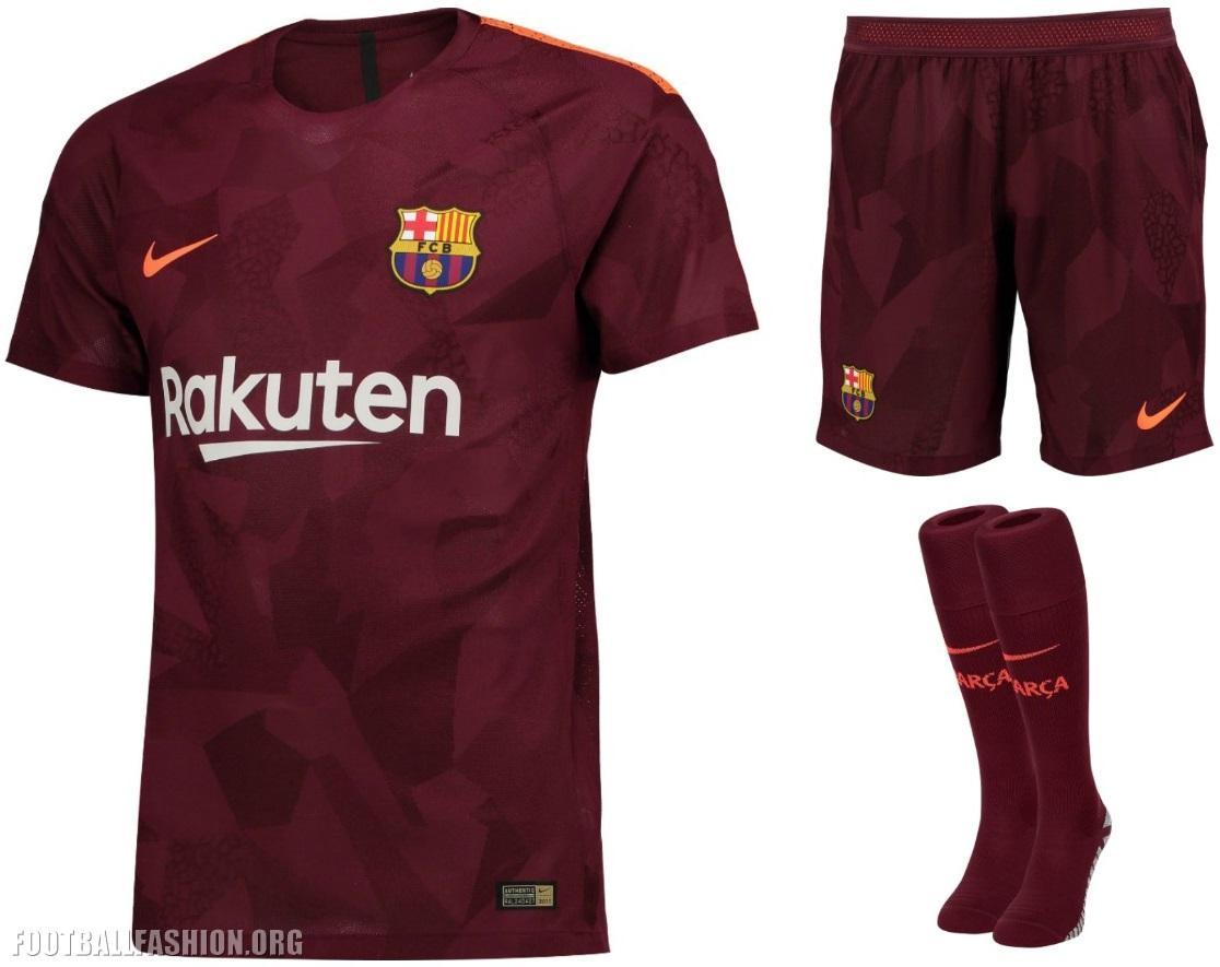 FC Barcelona 2017/18 Nike Third Kit