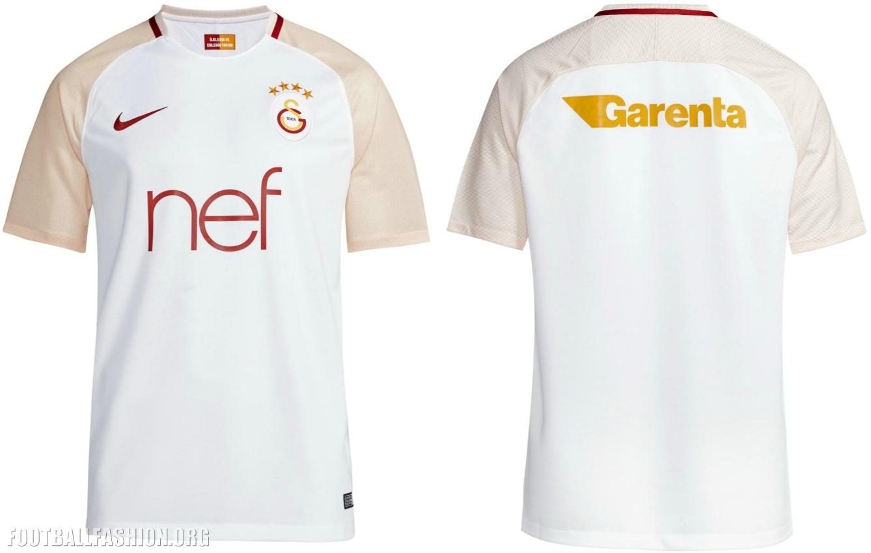 buy popular 27881 f2816 Galatasaray SK 2017/18 Nike Away and Third Kits - FOOTBALL ...