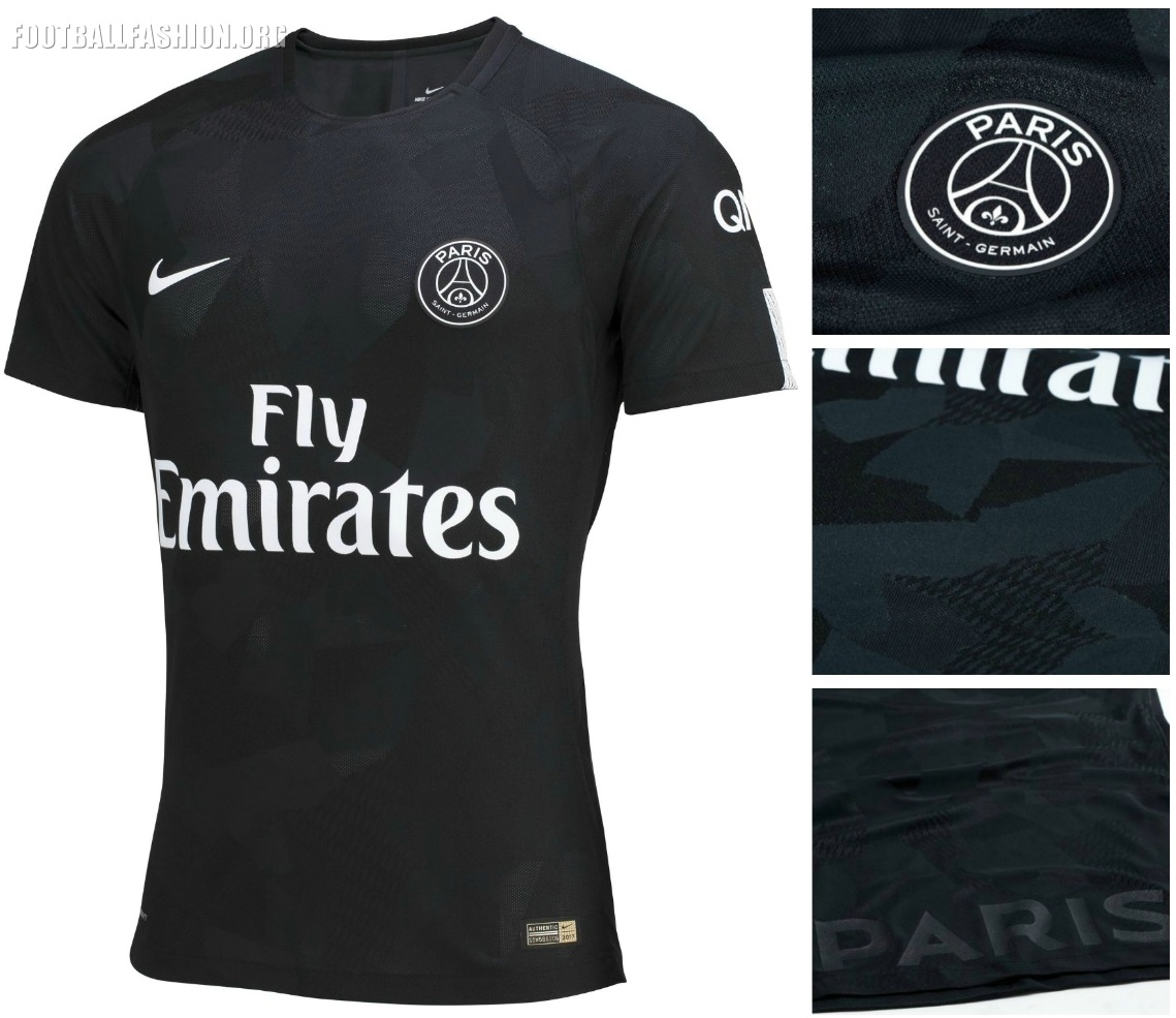 Paris Saint-Germain 2017 18 Nike Third Kit – FOOTBALL FASHION.ORG 9cfad69e1667e