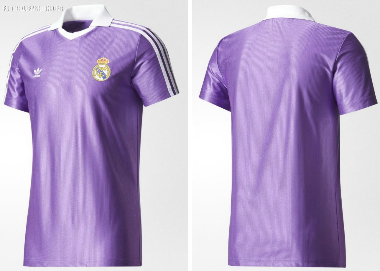 41c694793 Real Madrid 80s-Inspired 2017 18 adidas Originals Retro Kits ...