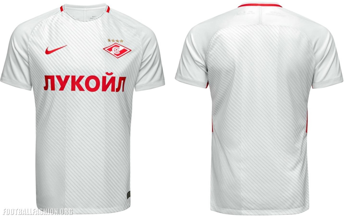 ae84280efe8 Spartak Moscow 2017 18 Nike Home and Away Kits - FOOTBALL FASHION.ORG