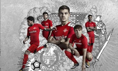 Spartak Moscow 2017 2018 Nike Home and Away Football Kit, Soccer Jersey, Shirt, Camiseta, Camisa, МАЙКА ИГРОВАЯ ОРИГИНАЛЬНАЯ NIKE SPARTAK MOSCOW СЕЗОН