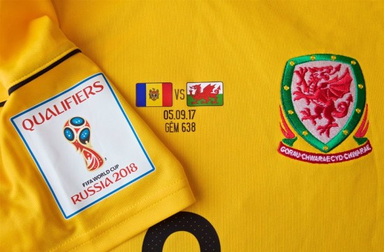 Wales' Unplanned 2017 Yellow adidas Third Football Kit, Soccer Jersey, Shirt