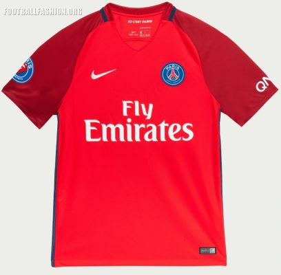 Paris Saint-Germain x The Rolling Stones NO FILTER Tour 2017 Jersey