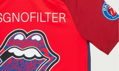 Paris Saint-Germain x The Rolling Stones NO FILTER Tour 2017 Jersey