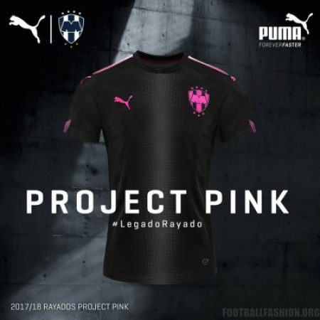 Rayados de Monterrey 2017 18 PUMA Project Pink Kit - Football Fashion d2afbefe6a472