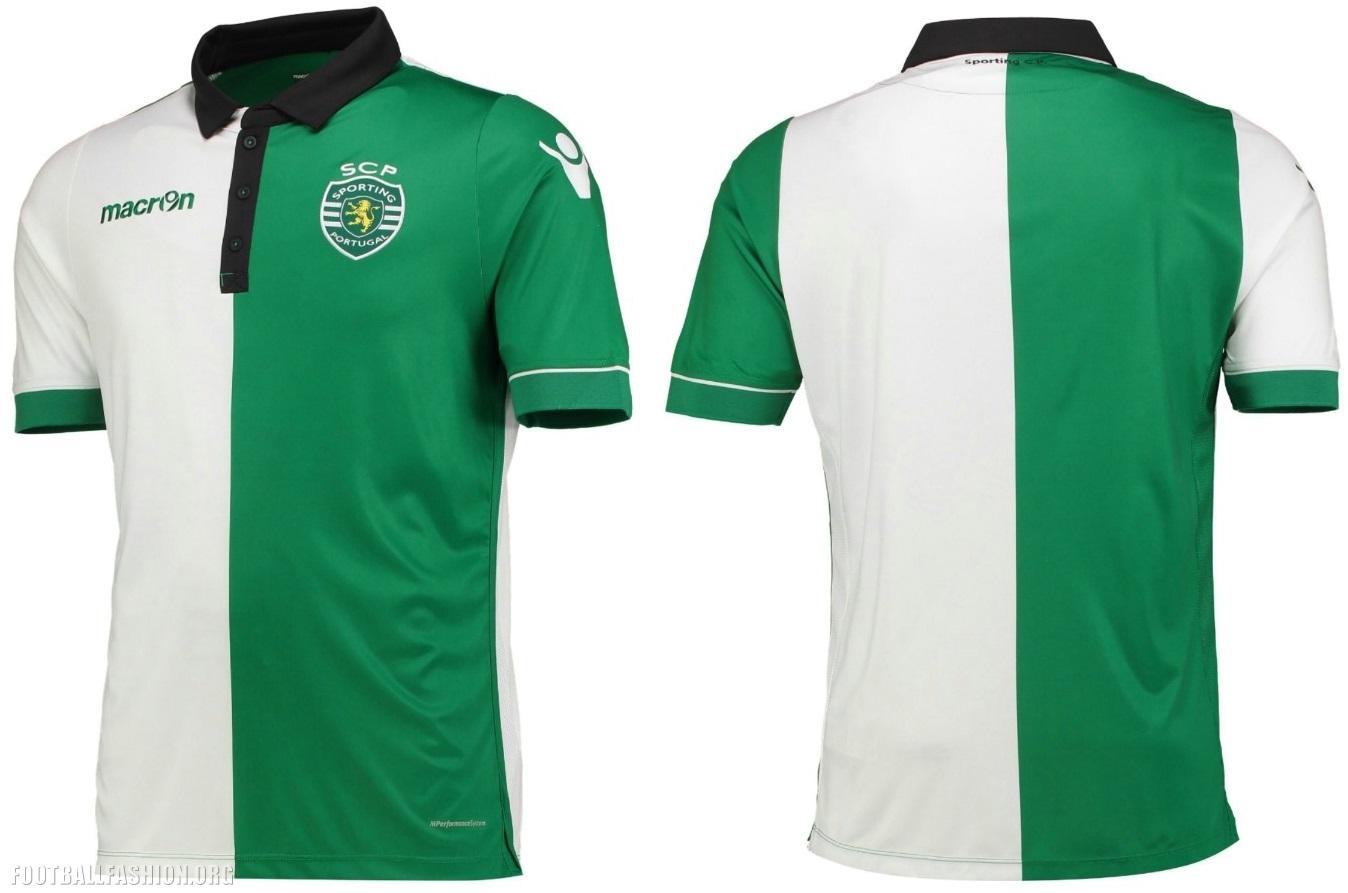 ef155d81c4 Sporting Clube de Portugal 2017 18 Macron Kits – FOOTBALL FASHION.ORG