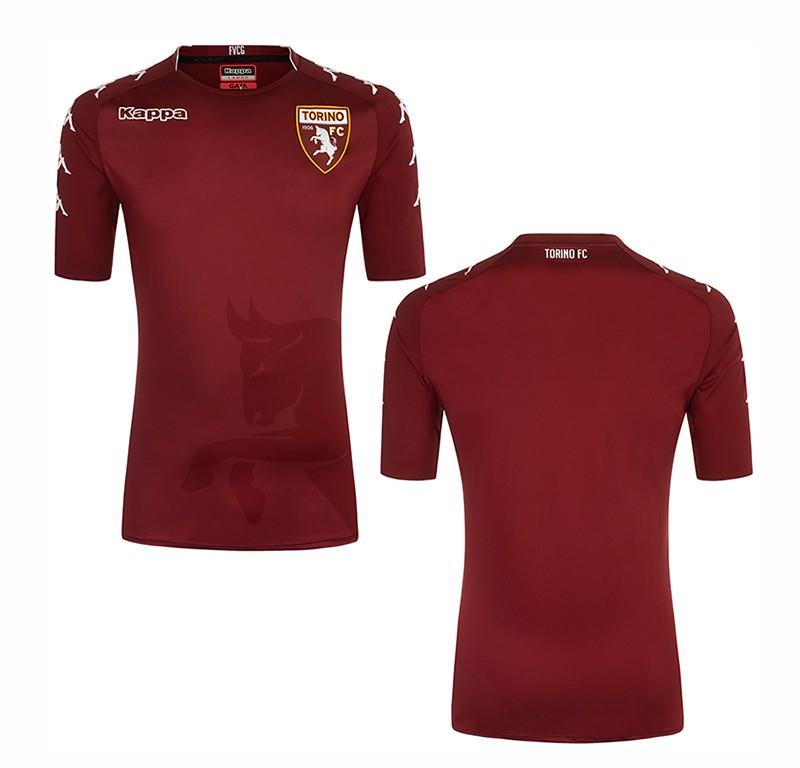 Torino fc 2017 18 kappa home away and third kits for Kit tornio