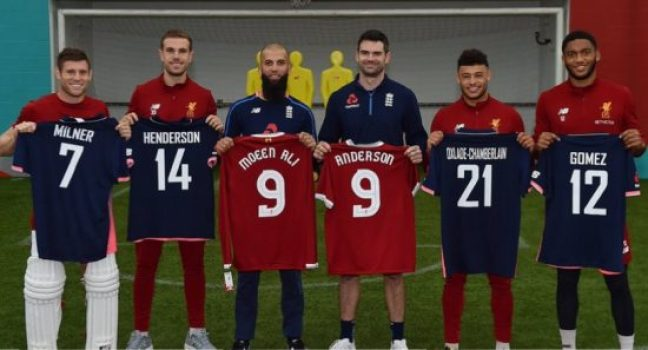 Liverpool FC vs. England Cricket x New Balance