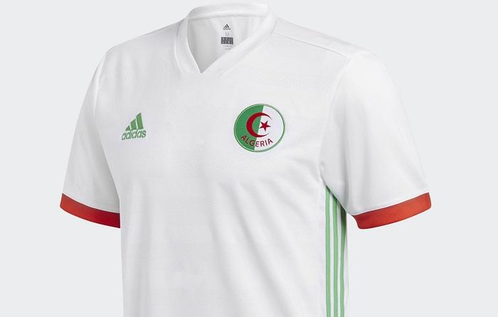 Algeria 201819 Adidas Home Kit FOOTBALL