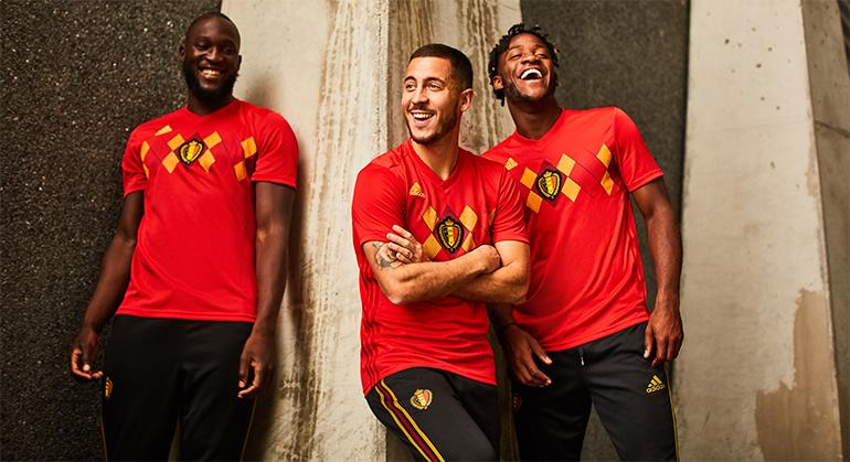 Image result for belgium 2018 world cup kit