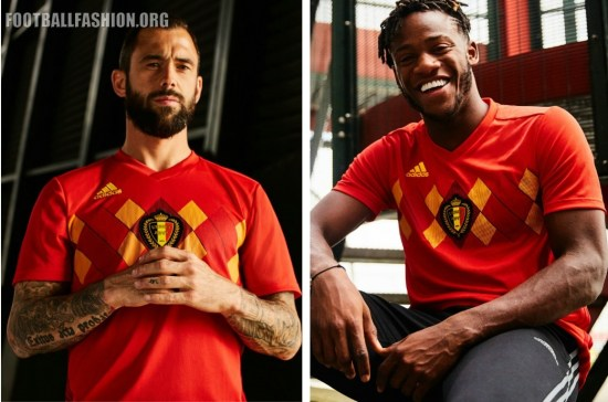 Belgium 2018 World Cup adidas Home Football Kit, Soccer Jersey, Shirt, Maillot, Tenue
