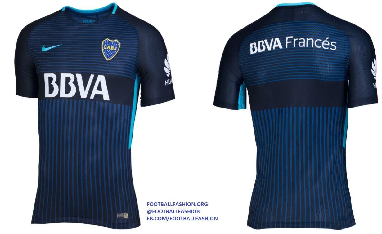 best sneakers 7fa10 948ec Boca Juniors 2017/18 Nike Third Kit - FOOTBALL FASHION.ORG