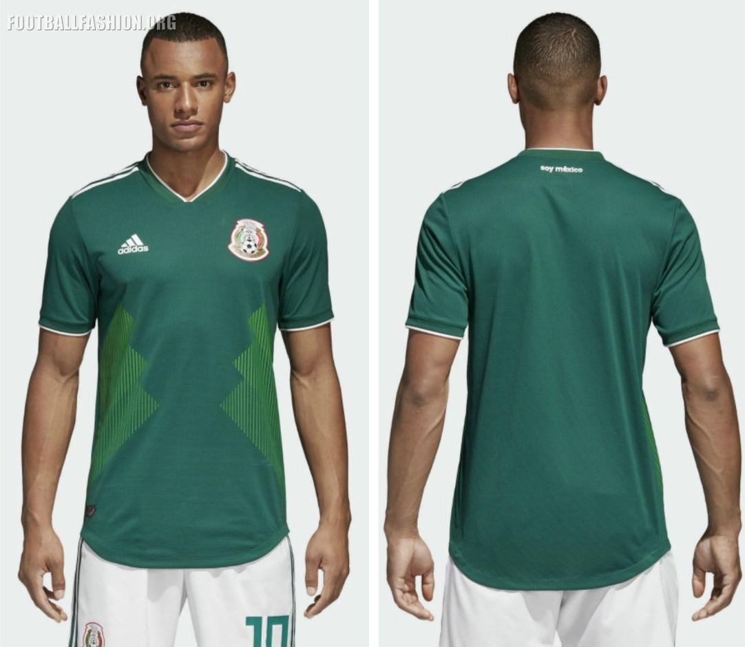 Mexico 2018 World Cup adidas Home Jersey - FOOTBALL FASHION.ORG