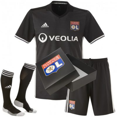 Olympique Lyon 2017 2018 adidas Third Football Kit, Soccer Jersey, Shirt, Maillot, Tenue