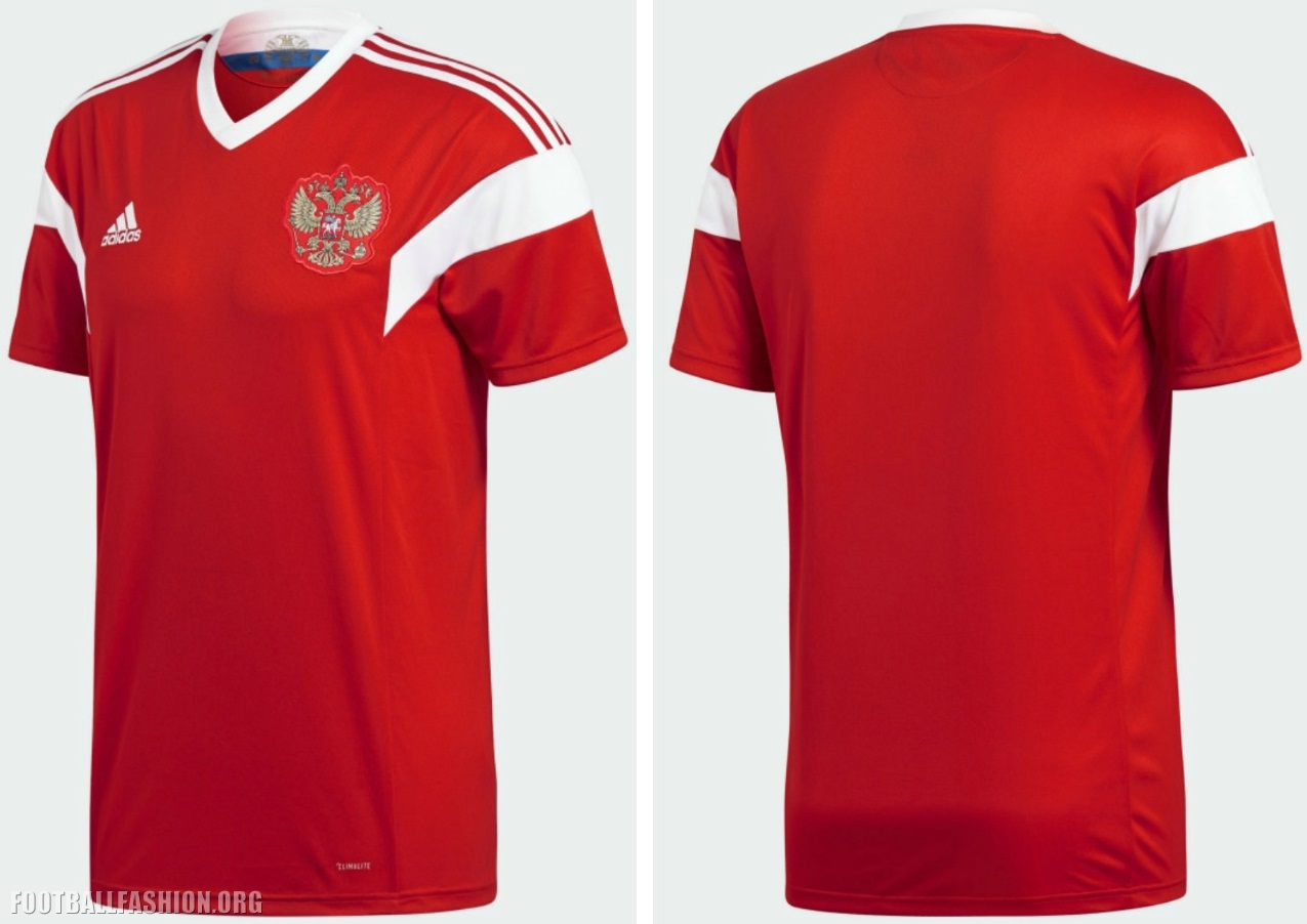 765c23962a8 Russia 2018 World Cup adidas Home Kit - FOOTBALL FASHION.ORG