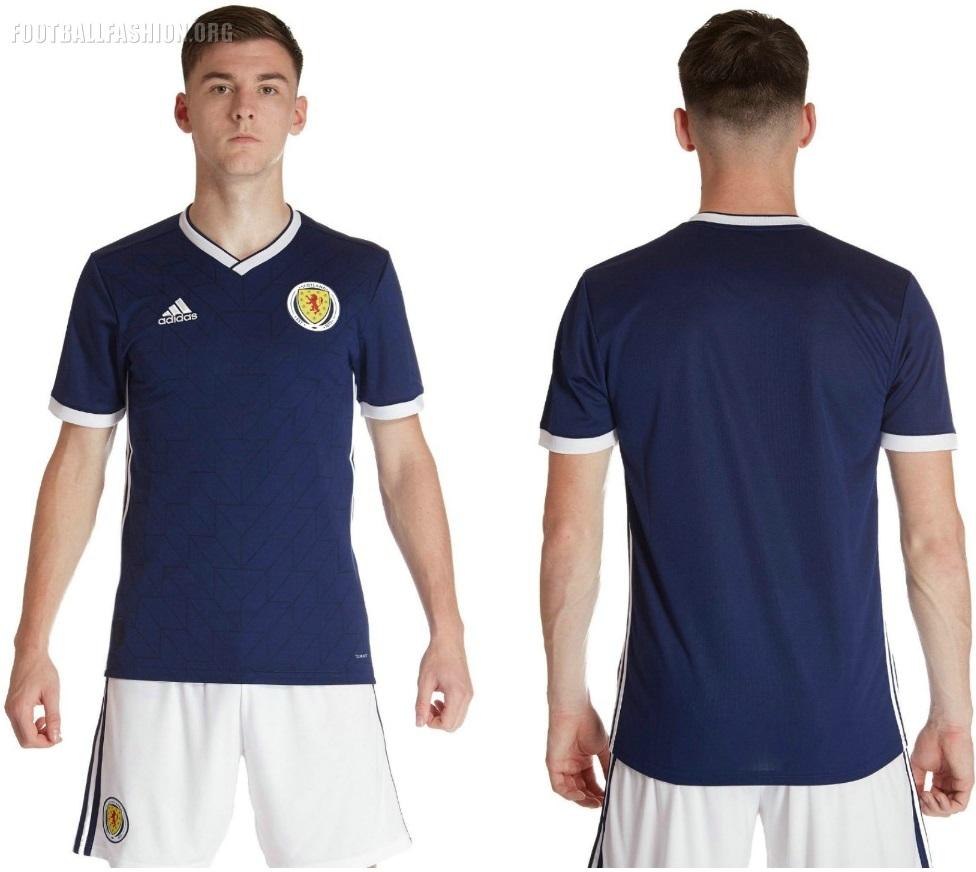 Scotland 2018/19 adidas Home Kit - FOOTBALL FASHION