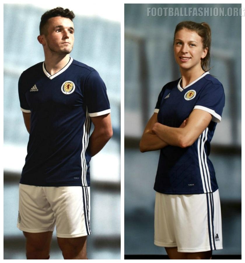 5854fdb8 Scotland 2018 2019 adidas Home and Away Football Kit, Soccer Jersey, Shirt