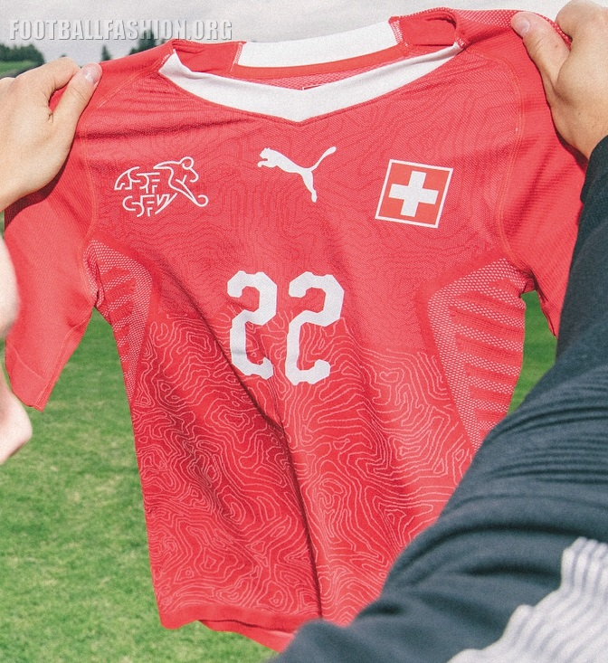4f0128f9bf5 Switzerland 2018 World Cup PUMA Home Kit - FOOTBALL FASHION.ORG