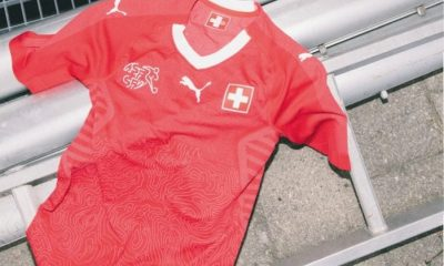 Switzerland 2018 PUMA Home Football Kit, Soccer Jersey, Shirt, Maillot, Trikot, Maglia, Gara