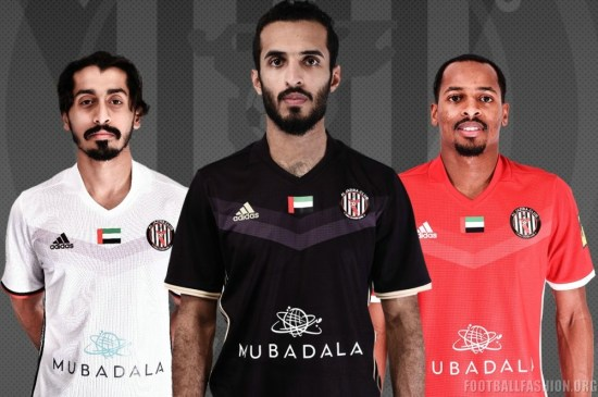 Al Jazira Club 2018 adidas Football Kit, Soccer Jersey, Shirt