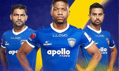 Chennaiyin FC 2017 2018 Home and Away Football Kit, Soccer Jersey, Shirt