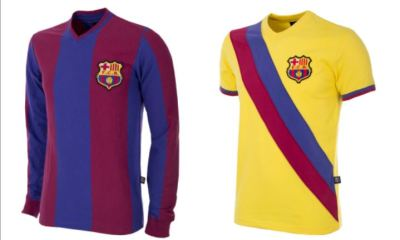 FC Barcelona x COPA 2018 Retro Football Kit, Soccer Jersey, Shirt, Camiseta de Futbol, Equipacion