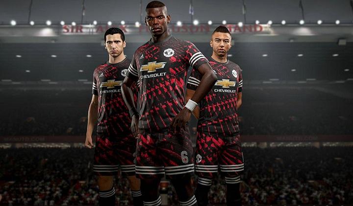 FIFA 18 x adidas Real Madrid, Man Utd, Bayern & Juve 4th Football Kit, Soccer Jersey, Shirt, Trikot, Gara, Maglia, Camiseta de Futbol, Equipacion